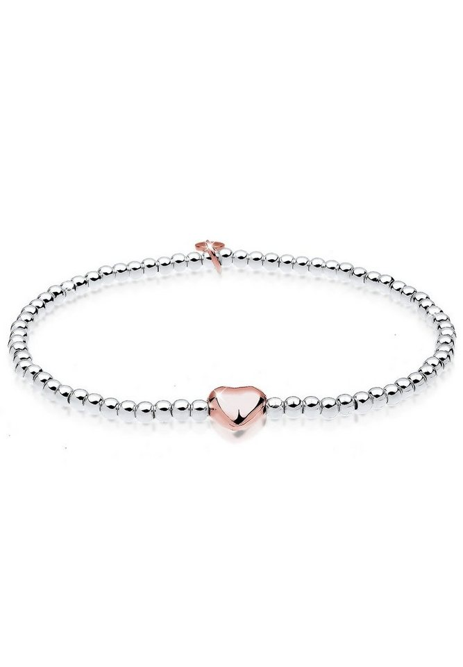 Elli Armband »Herz 925 Sterling Silber« in Silber