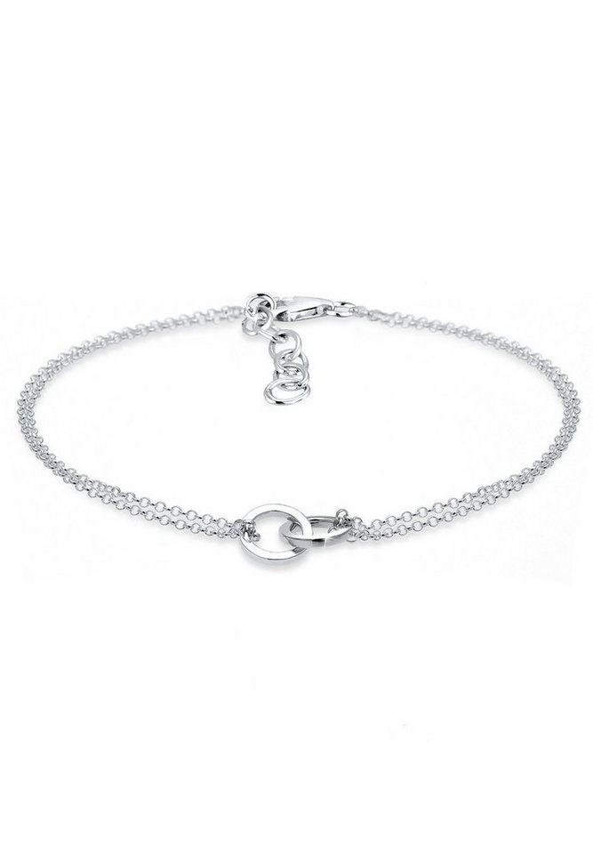 Elli Armband »Kreis 925 Sterling Silber« in Silber