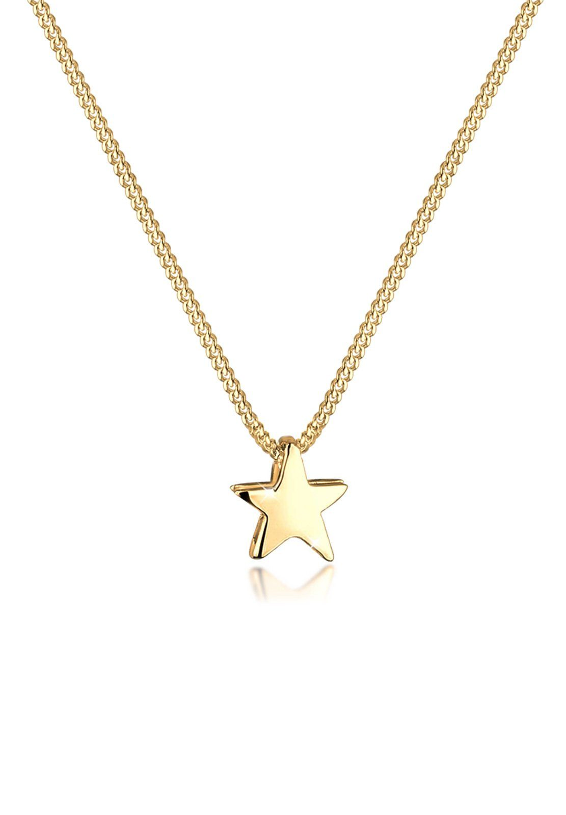 Goldhimmel Halskette »Stern Astro Himmel 925 Sterling Silber«