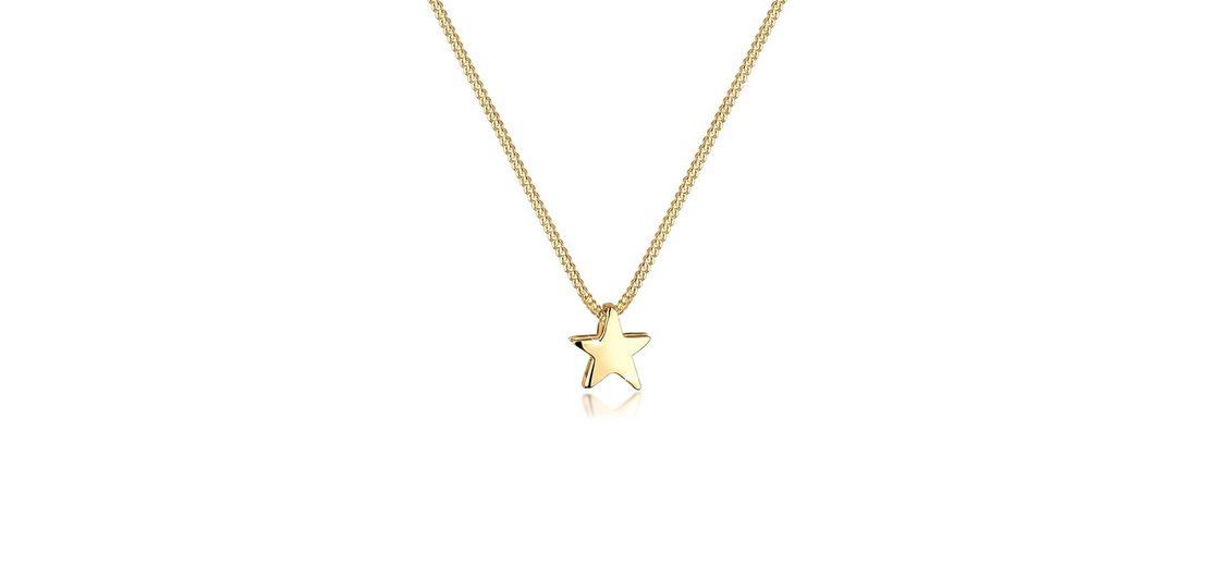 Goldhimmel Halskette »Stern 925 Sterling Silber vergoldet«
