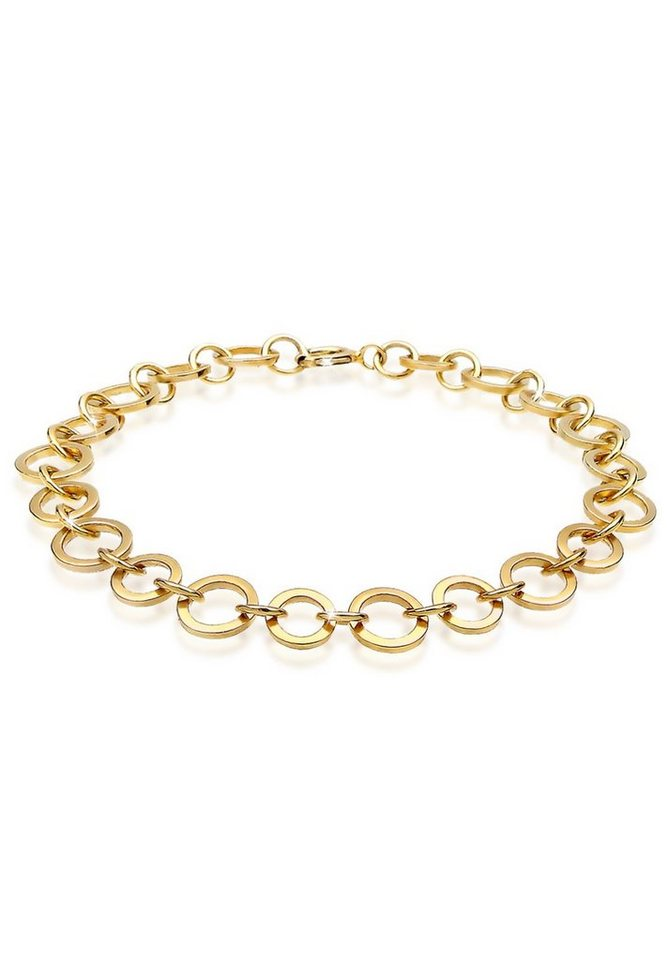 Goldhimmel Armband »Glieder Trend 925 Sterling Silber« in Gold