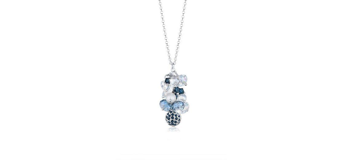 Elli Halskette »Swarovski Kristalle Perlen 925 Sterling Silber«