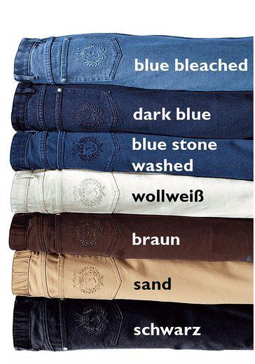 Collection L. Jeans in gerader Schnittführung