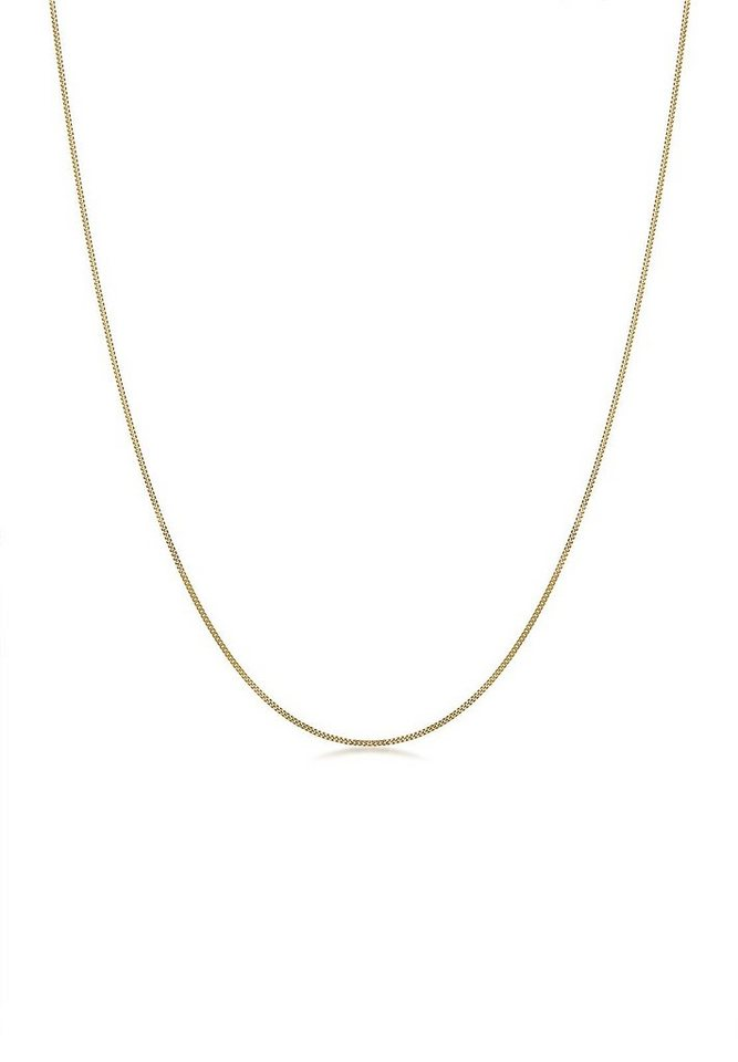 Elli Halskette »Basic-Kette 585 Gelbgold« in Gold
