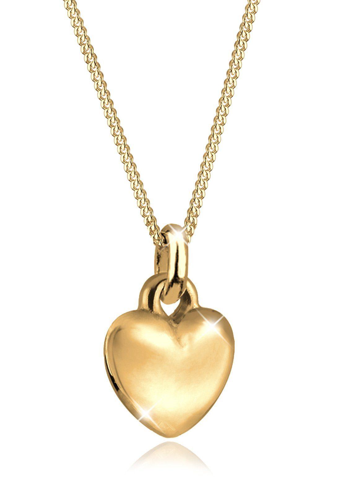 Goldhimmel Halskette »Herz Liebe Valentin 925 Sterling Silber«