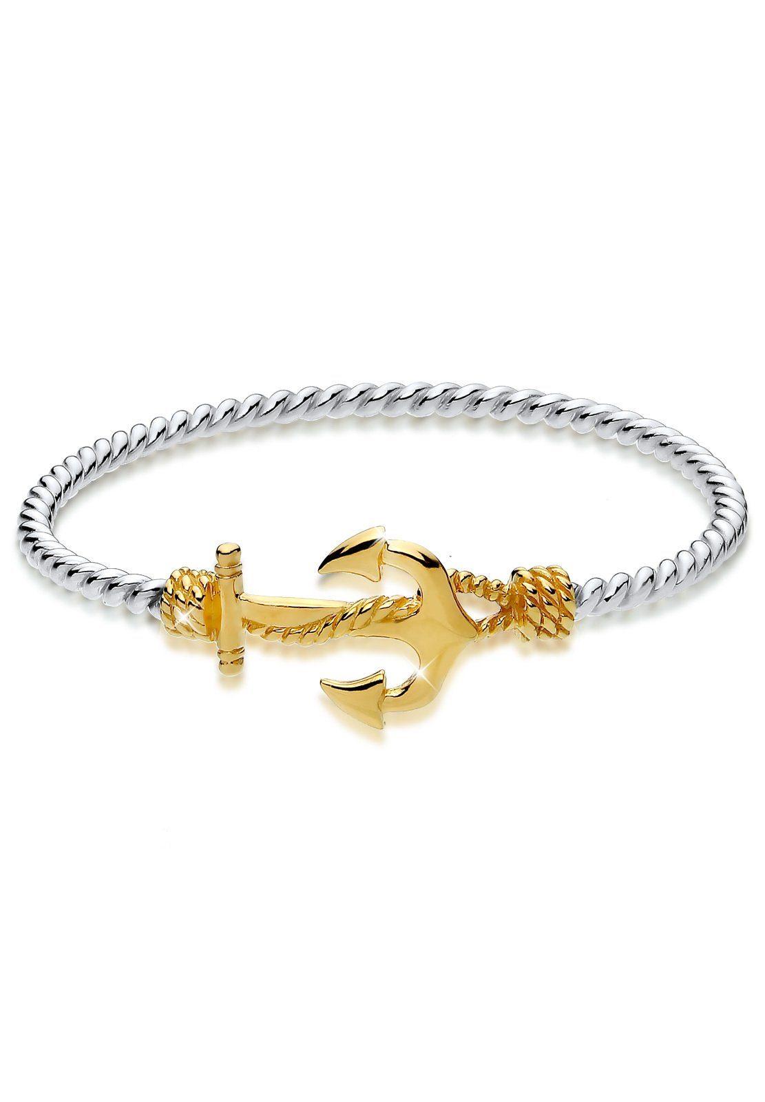 Elli Armband »Anker 925 Sterling Silber«