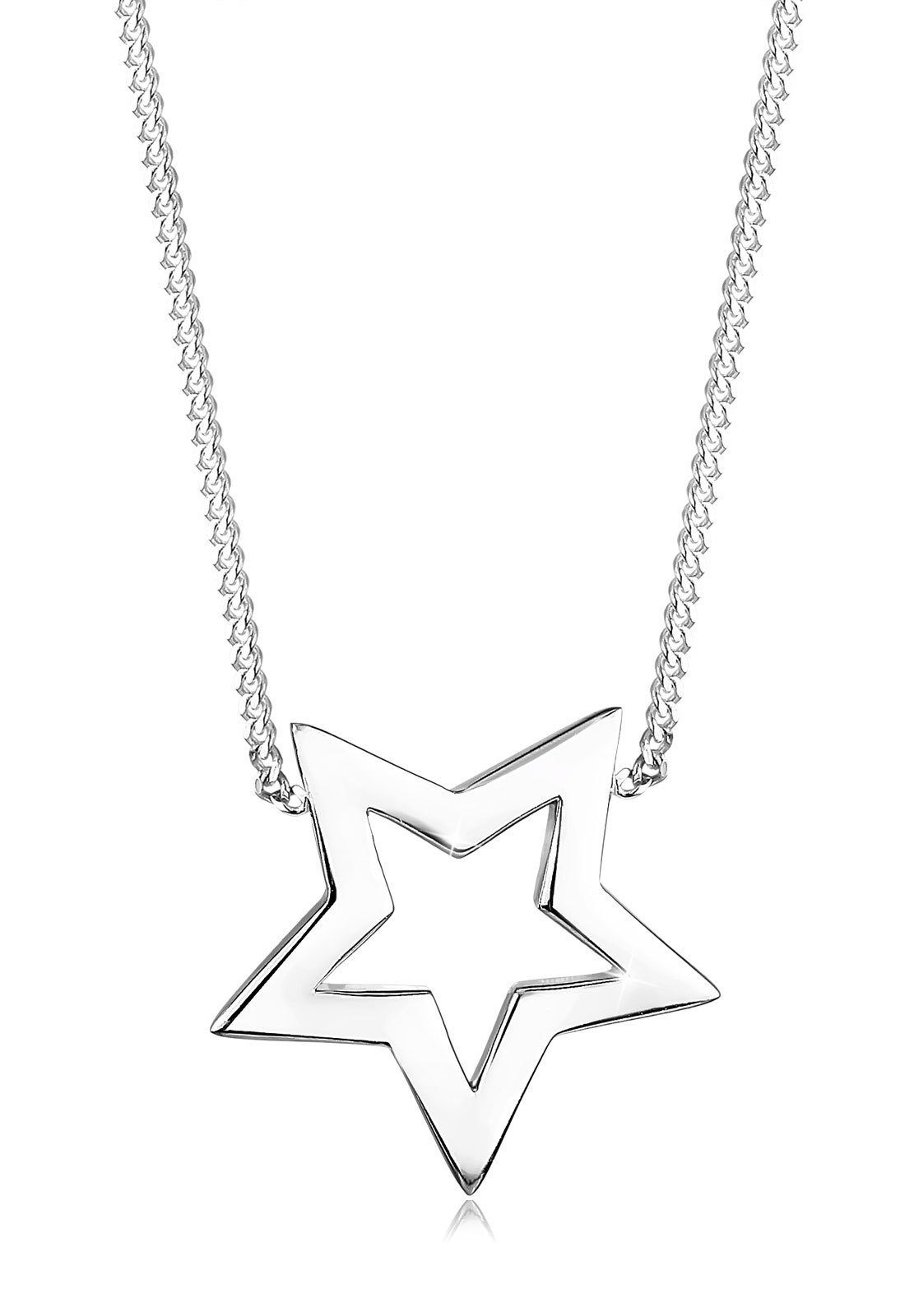 Elli Halskette »Stern Astro Blogger 925 Sterling Silber«