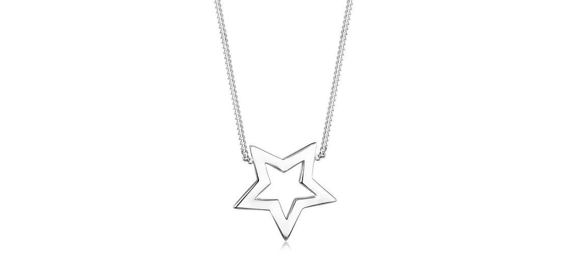 Elli Halskette »Stern 925 Sterling Silber«