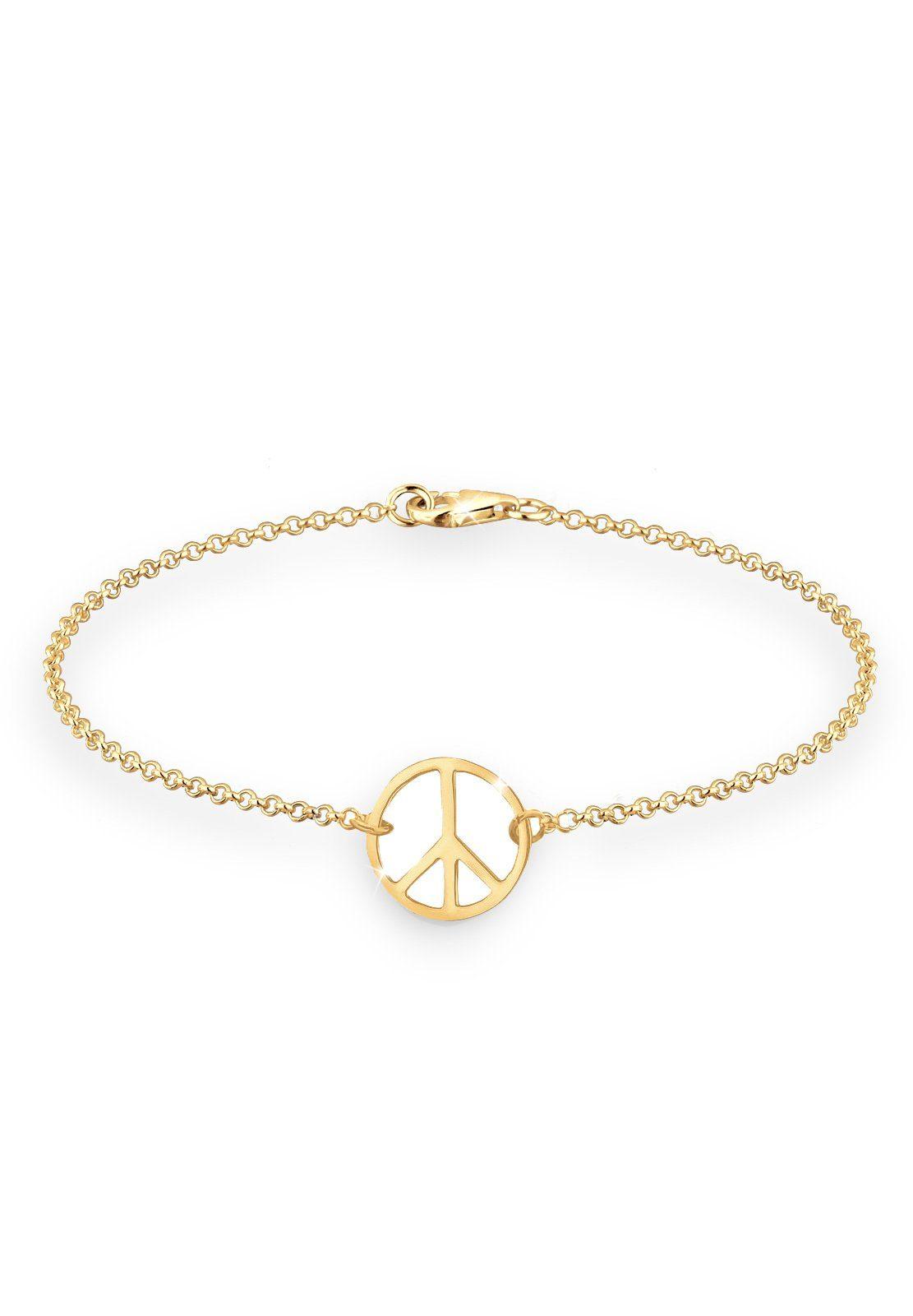 Goldhimmel Armband »Peace 925 Sterling Silber vergoldet«