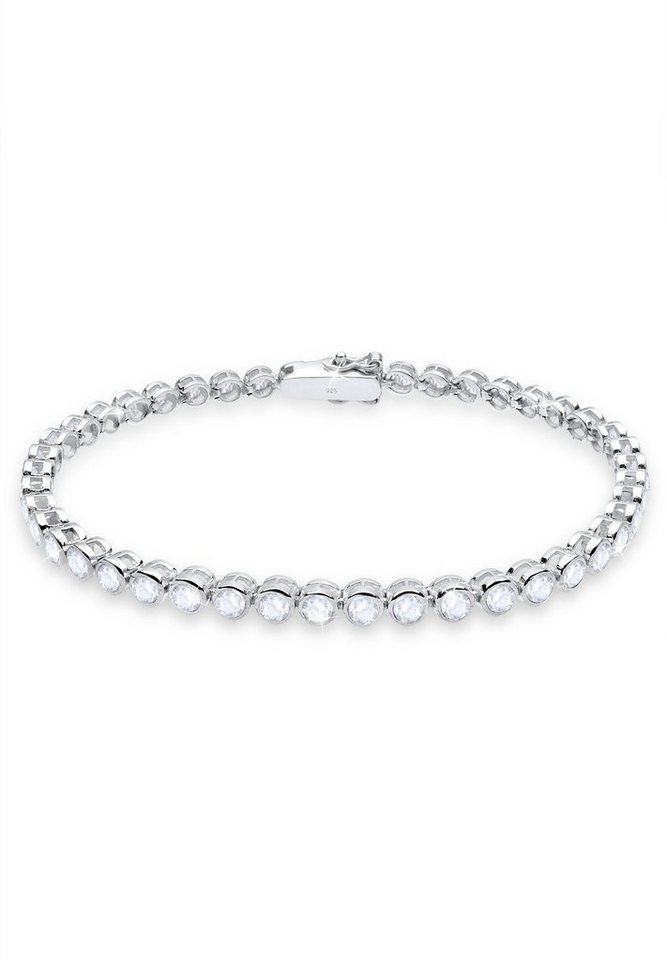 Elli Armband »Topas 925 Sterling Silber« in Weiß