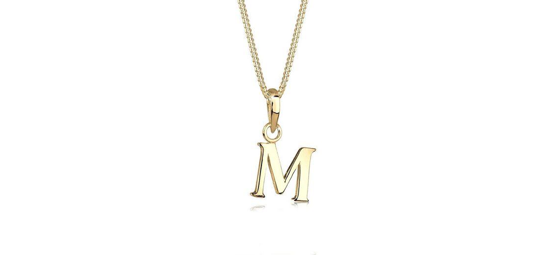 Goldhimmel Halskette »Buchstaben M 925 Sterling Silber«