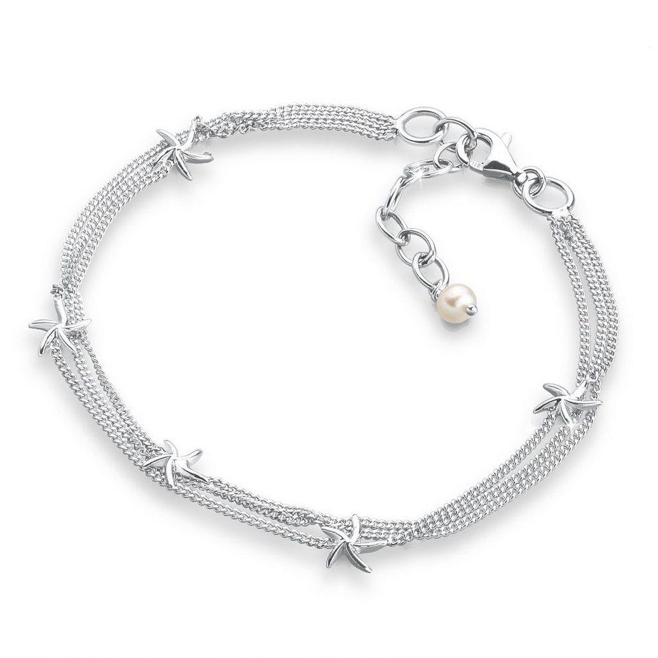 Elli Armband »Seestern 925 Sterling Silber« in Silber