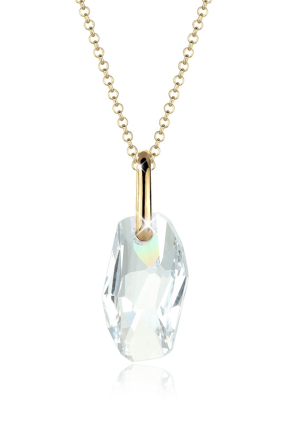 Goldhimmel Halskette »Galactic Swarovski® Kristalle 925 Sterling Silber«