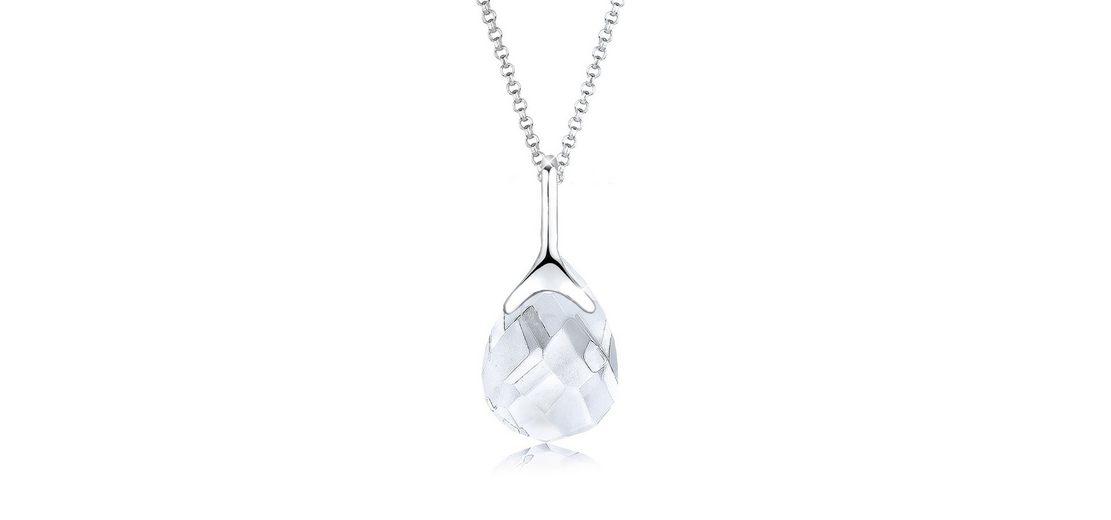 Elli Halskette »Bergkristall 925 Sterling Silber«