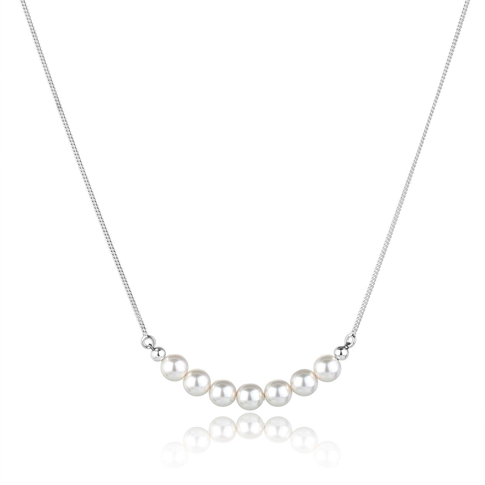Elli Halskette »Perlen Swarovski Kristalle 925 Sterling Silber«