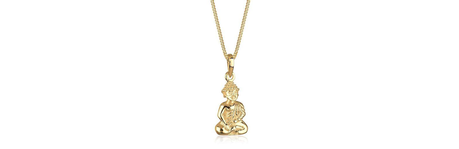 Goldhimmel Halskette »Buddha 925 Sterling Silber vergoldet«