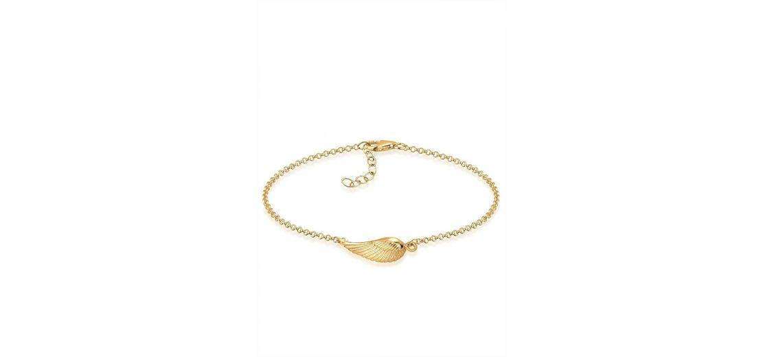 Goldhimmel Armband »Flügel 925 Sterling Silber vergoldet«