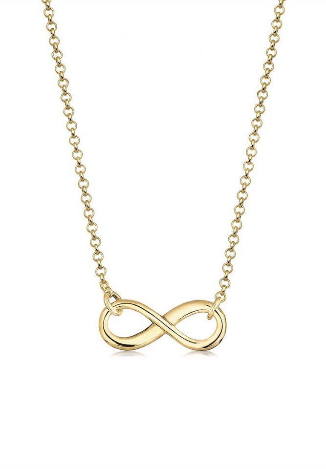 Elli Halskette »Infinity 375 Gelbgold« in Gold