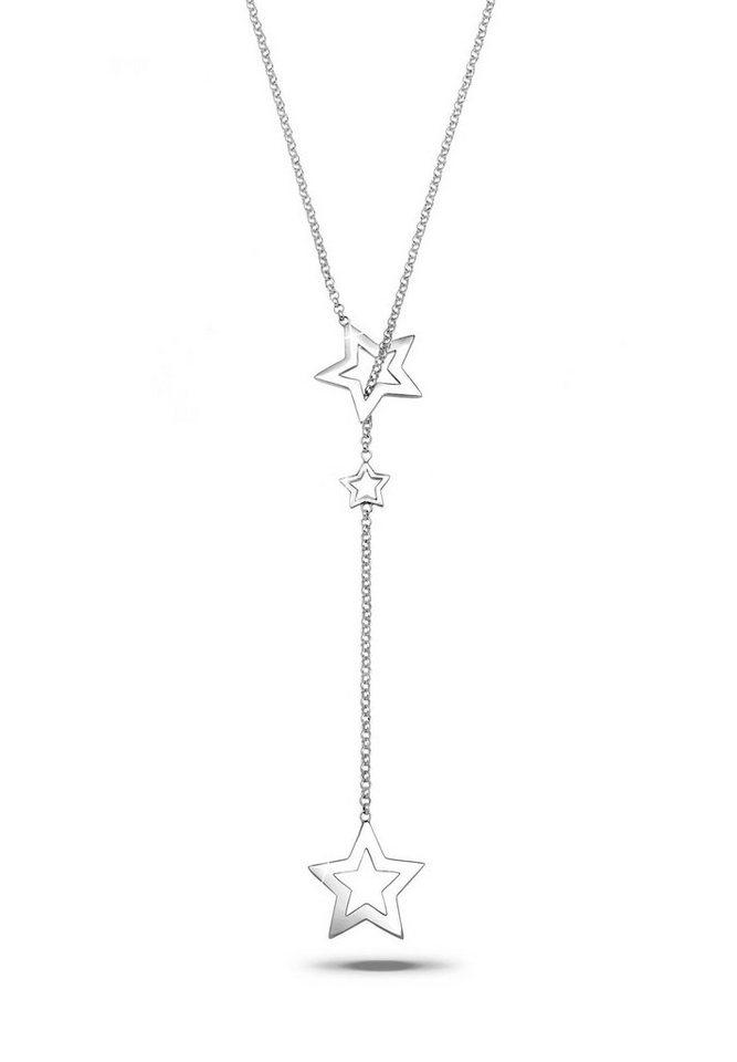 Elli Halskette »Y-Kette Stern Astro 925 Sterling Silber« in Silber