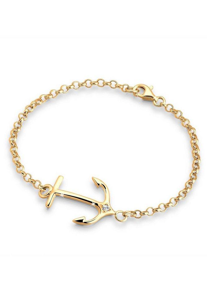 goldhimmel armband anker swarovski kristall 925 sterling. Black Bedroom Furniture Sets. Home Design Ideas
