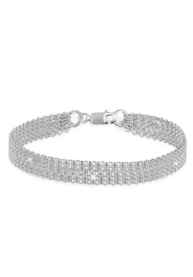 Elli Armband »5-Lagig 925 Sterling Silber« in Silber