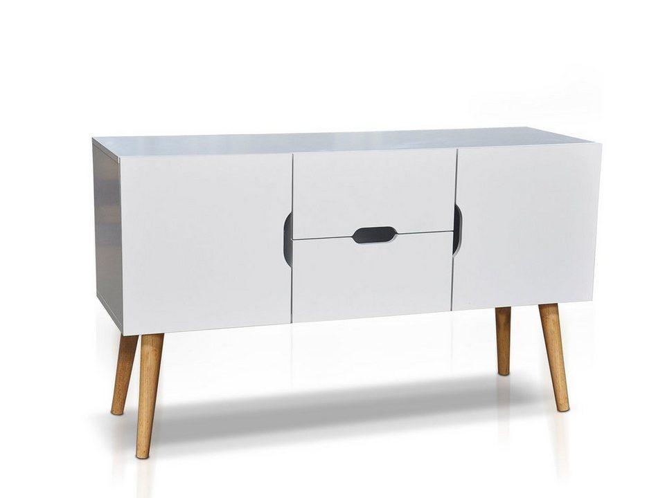 massivum sideboard aus mdf wakefield kaufen otto. Black Bedroom Furniture Sets. Home Design Ideas