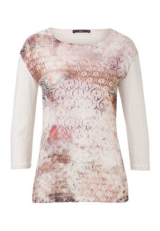 BRAX Damenshirt »CAREN« in ROSEWOOD