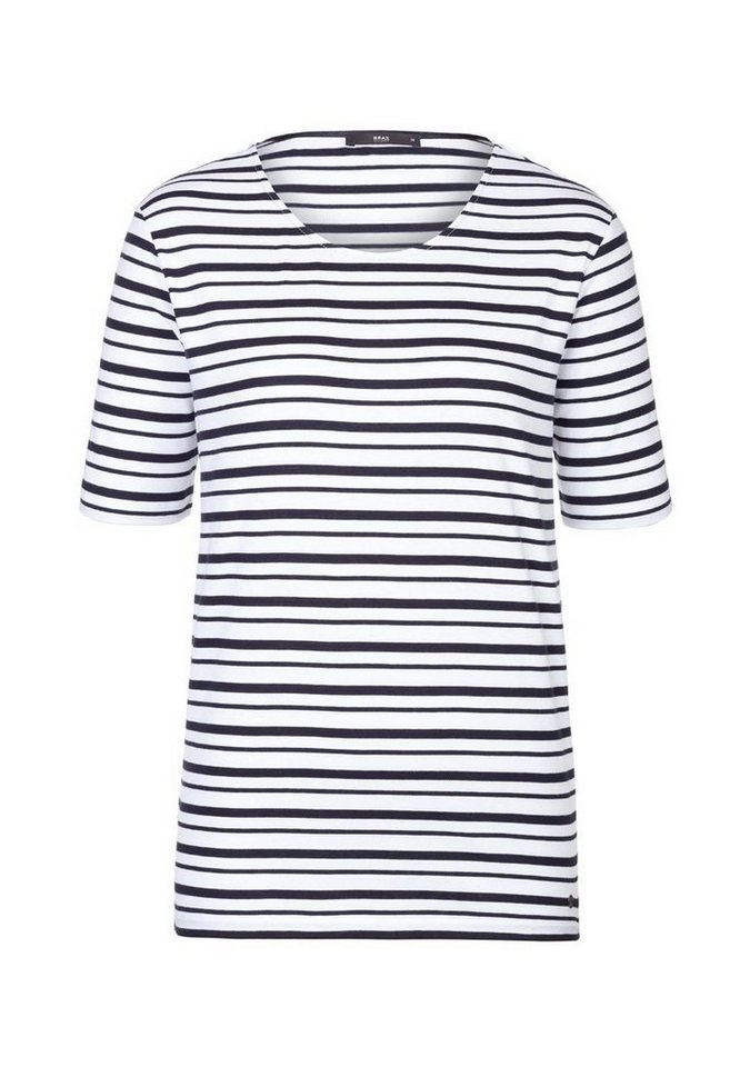 BRAX T-Shirt »CAREN« in MARINE