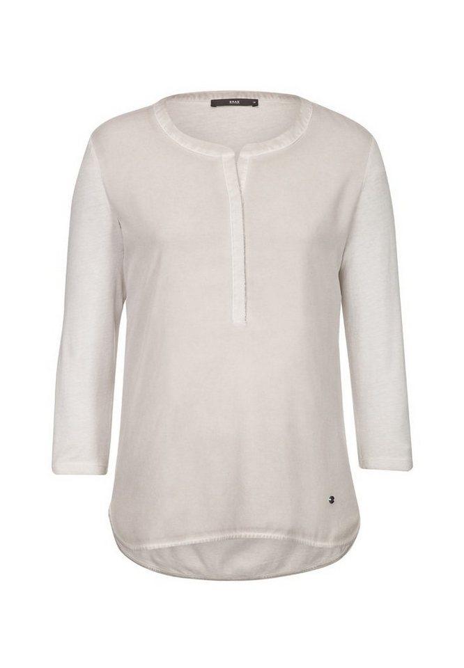 BRAX T-Shirt »CLARISSA« in PEBBLE
