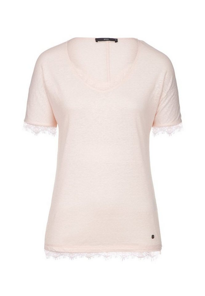 BRAX T-Shirt »CAELEN« in ROSÈ