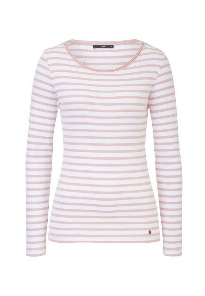 BRAX Damenshirt 1/1-Arm »COLLENE« in ROSE DUST