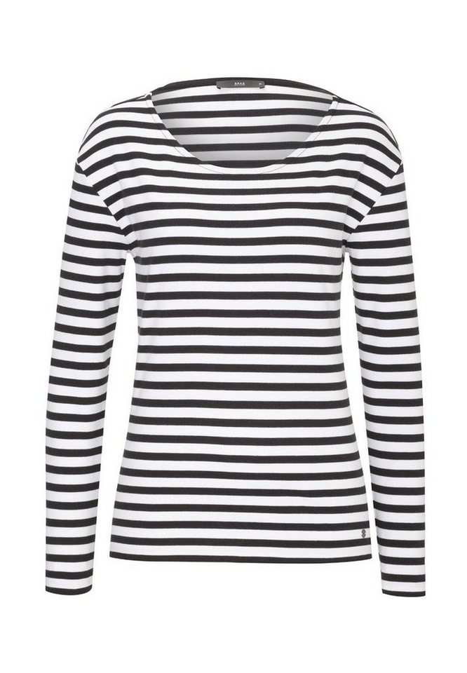 BRAX Damensweatshirt »BOBBIE« in BLACK