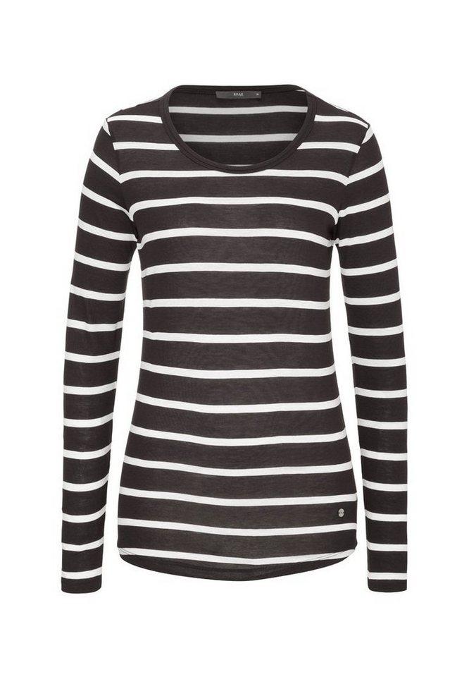 BRAX Damenshirt »CARINA« in BLACK