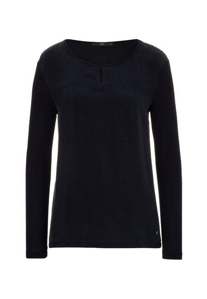 BRAX T-Shirt »CAROL« in BLACK