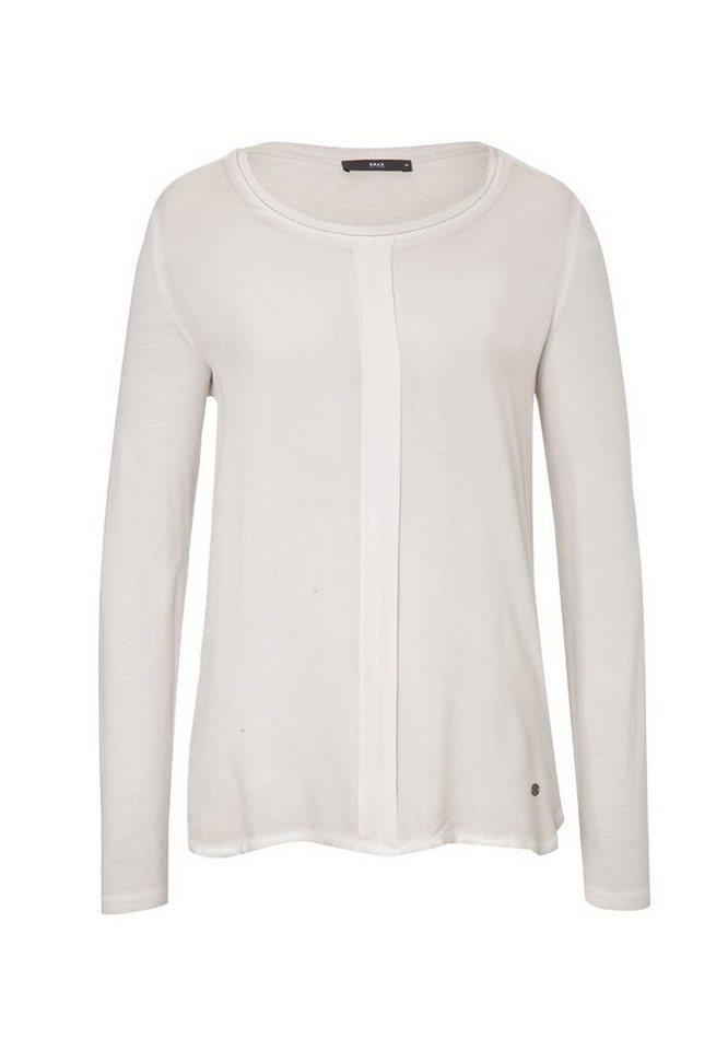 BRAX Damenshirt »CLARISSA« in STONE GREY