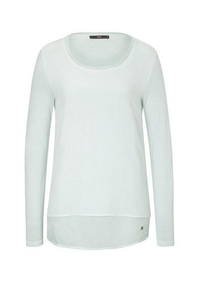 BRAX T-Shirt »COLLENE« in GREEN POWDER