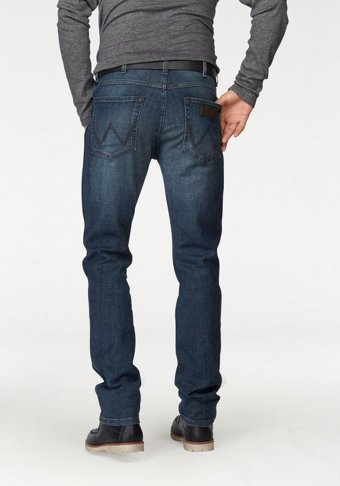 Wrangler Stretch-Jeans »Arizona« Classic Straight in green-sky