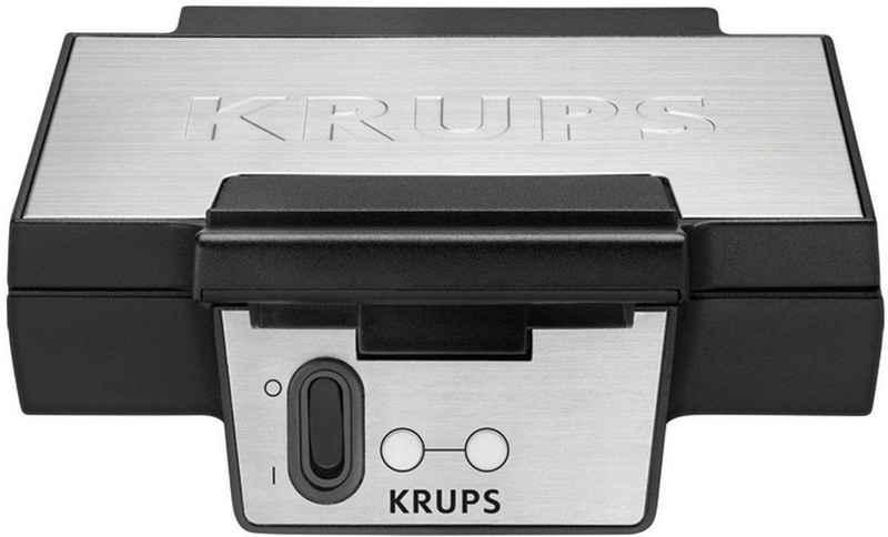 Krups Waffeleisen FDK251, 850 W, Antihaftbeschichtete Platten