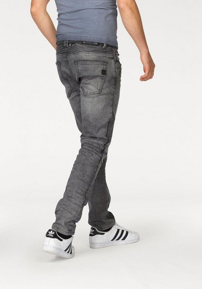 Cipo & Baxx Slim-fit-Jeans in grey-used