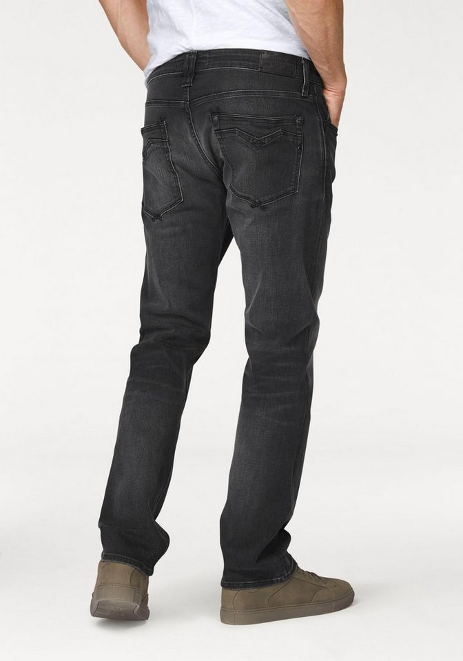 Replay Comfort-fit-Jeans »Newbill« in black-used