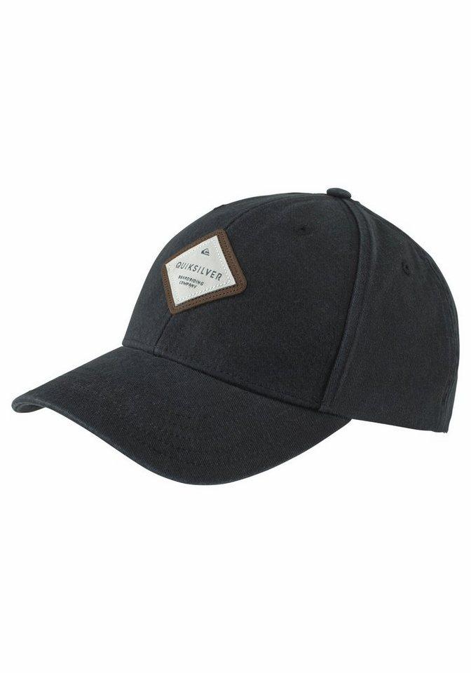 Quiksilver Baseball Cap in schwarz