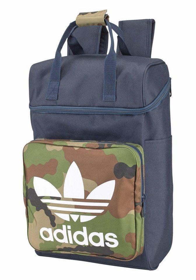 adidas Originals Cityrucksack »BP CLAS CAMO« in marine