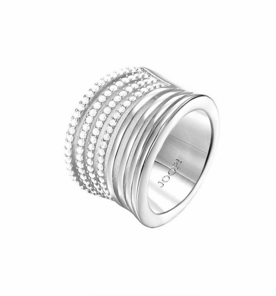 Joop! Silberring »JP-M REFINED, JPRG90800« mit Zirkonia in Silber 925