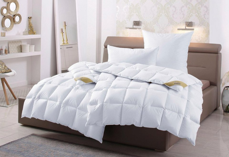 set daunenbettdecken kopfkissen balette pauline extrawarm online kaufen otto. Black Bedroom Furniture Sets. Home Design Ideas
