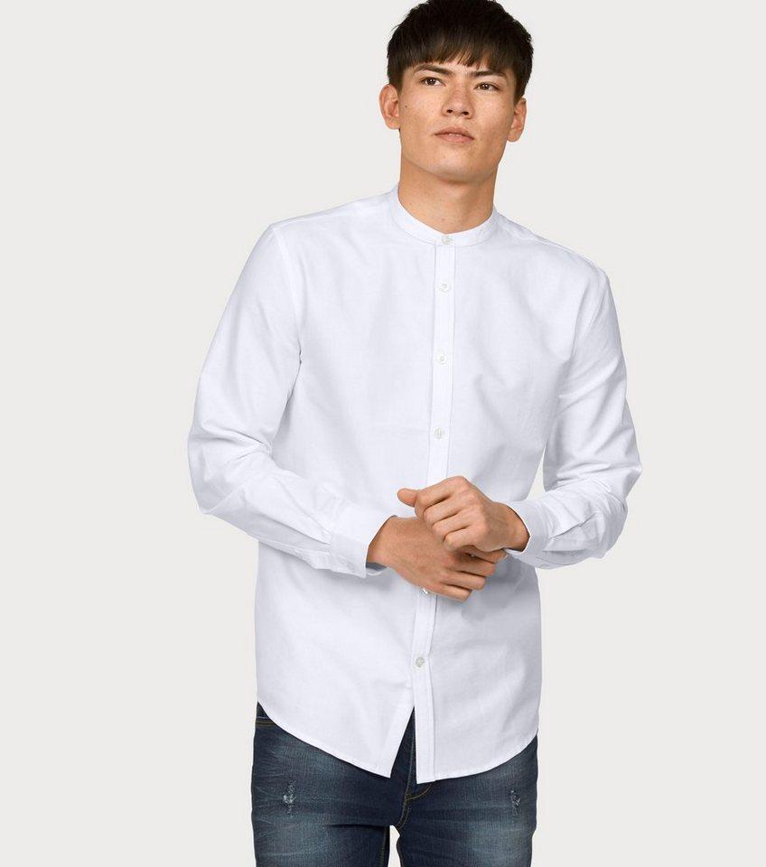 John Devin Langarmhemd in weiß