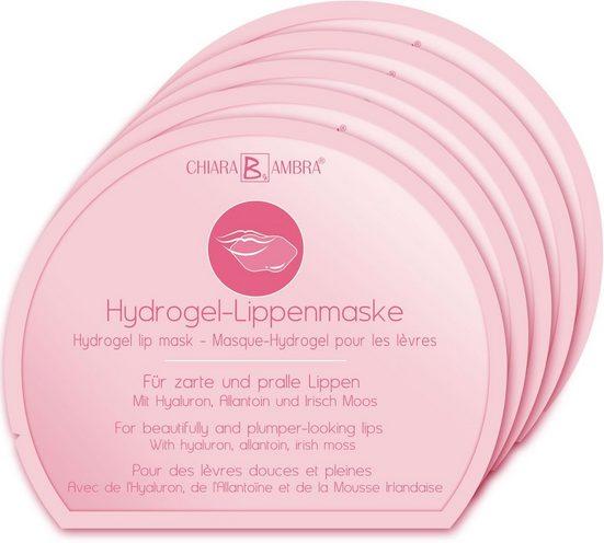 CHIARA AMBRA Lippenmaske »Hydrogel« Packung, 5 x 5 g