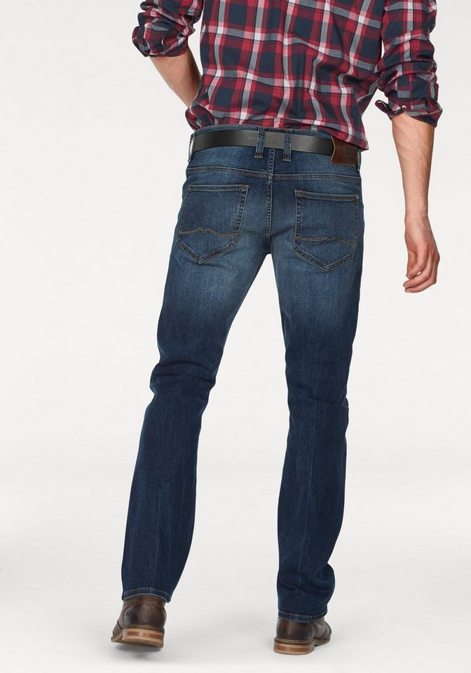 Mustang Comfort-fit-Jeans »Chicago« in stone