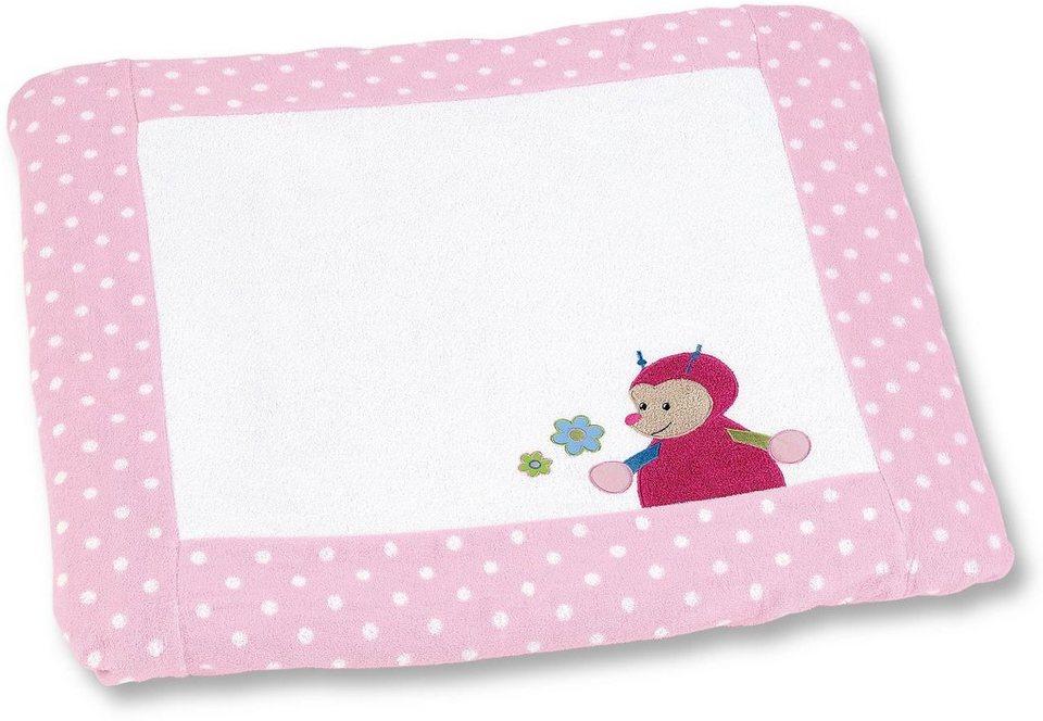 Sterntaler Wickelauflagen Set, »Katharina« in rosa
