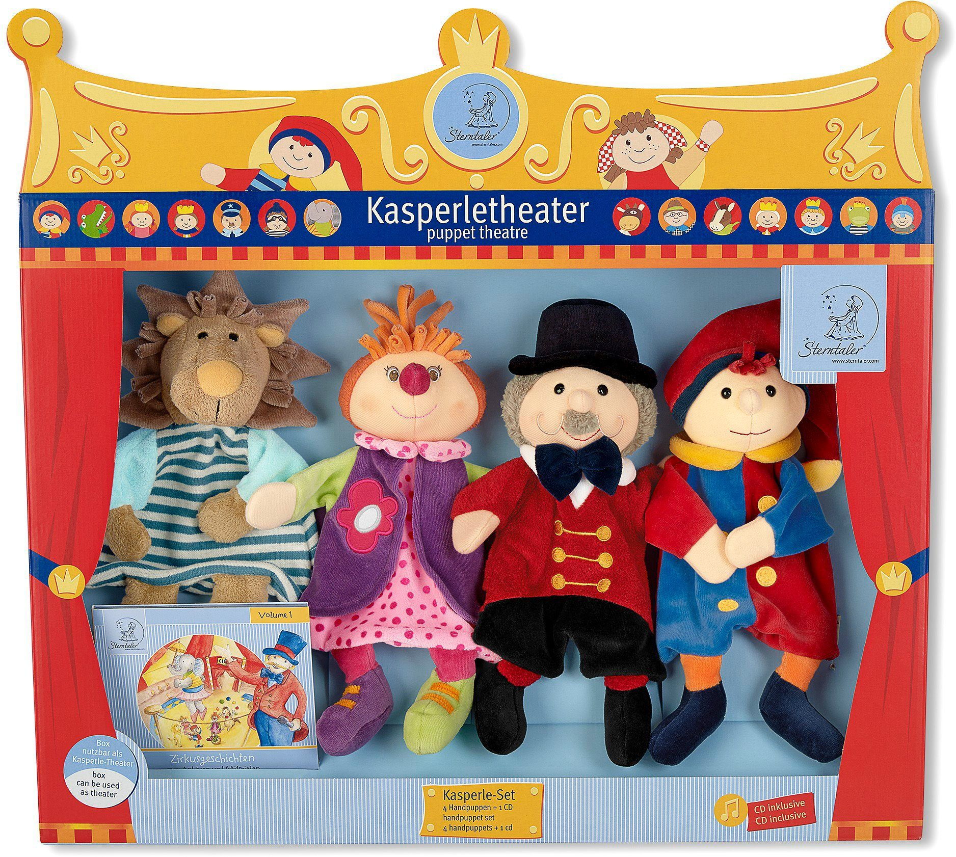 Sterntaler Kasperletheater, »Kasperle Set Zirkus«