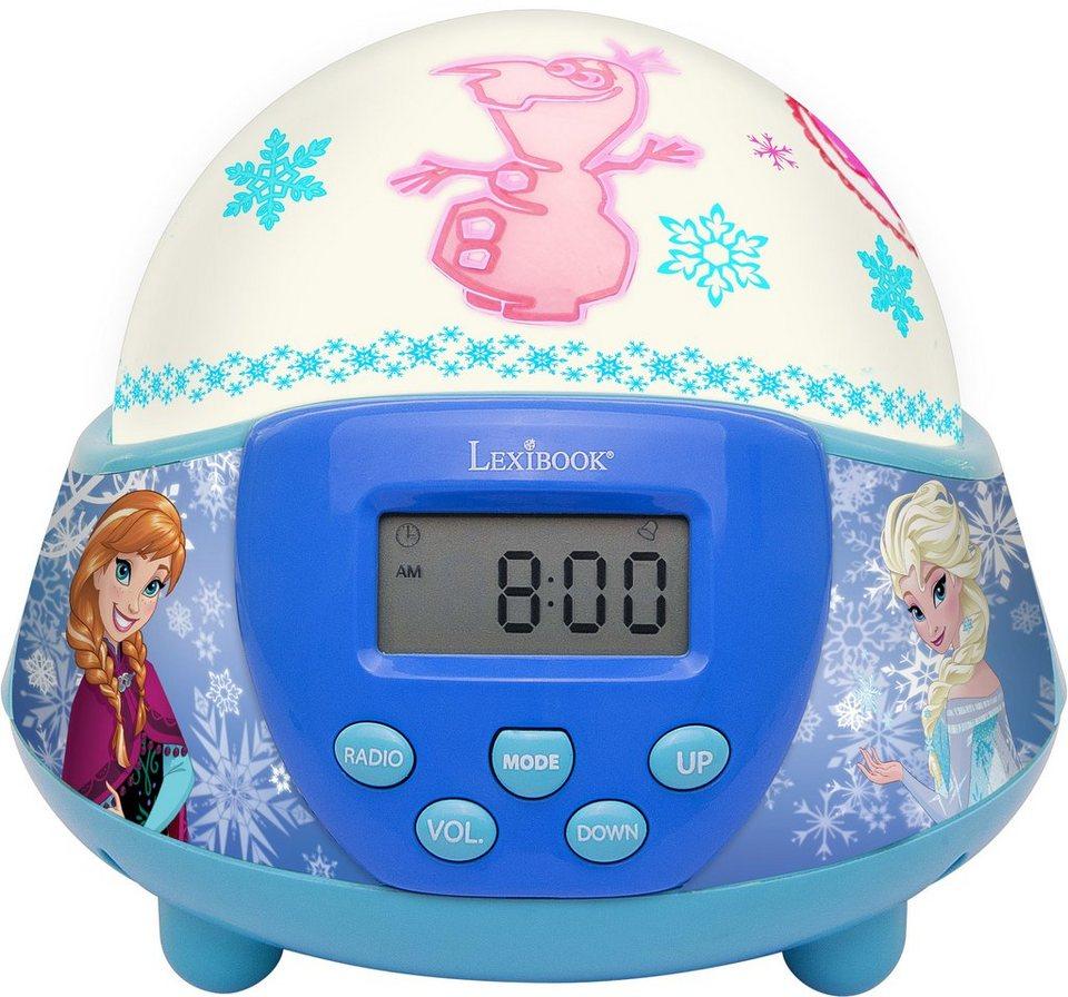 Lexibook Nachtlicht mit Wecker und Radio, »Disney, Frozen«